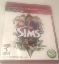 SIMS 3 THREE PS3 GREATEST HITS SONY PLAYSTATION VIDEO GAME    - $14.02