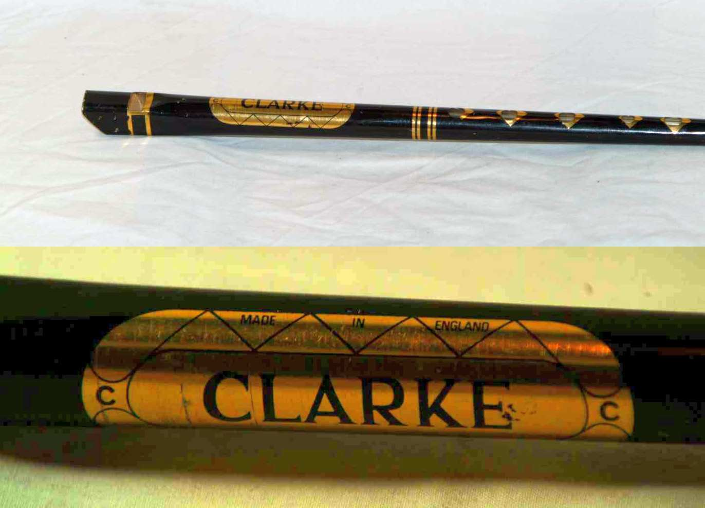 Primary image for 1960's vintage Clarke Tin Penny Whistle (key of C) - 50 years old