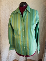 Eddie Bauer Blouse Modified for Mastectomy Drains or Travel - $25.00