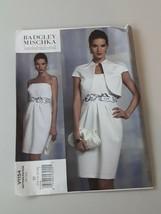 VOGUE PATTERN JACKET & DRESS BADGLEY & MISCHKA MISSES' SIZE 14-16'18-20 ... - $7.13