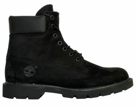 """Timberland Men's 6"""" Classic Waterproof Boots NEW AUTHENTIC Black 19039 - $144.49"""