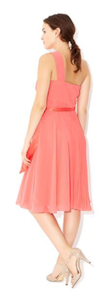 MONSOON Freya Coral Dress BNWT image 3
