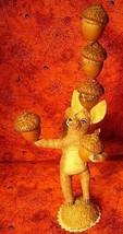 Vintage Inspired Spun Cotton Nut Balancing Squirrel 264 image 1