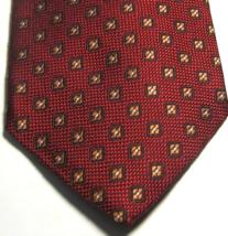 Brooks Brothers Rich Brick Red/ Burnt Orange Geometric Tie - $29.99