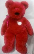 "Rare 2001 Ty Jumbo Large Teddy Bear Valentina  32"" Retired Valentine Gif... - $53.99"