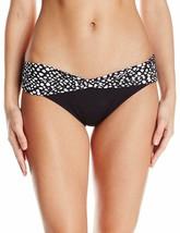 Coco Reef Women's ST. Lucia Star Draped Bikini Bottom Black/White Size S... - $10.76