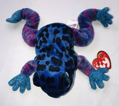 Ty Dart the poison dart frog plush 2001 With Tags - $11.57