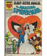 Amazing Spiderman Annual #21 ORIGINAL Vintage 1987 Marvel Comics Wedding - $18.51