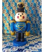 Handmade Glass Christmas Toy Soldier - $45.94