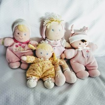 Baby Doll Lot First Soft Cloth Lovey Rattle Carters Thermal Child of Min... - $22.76