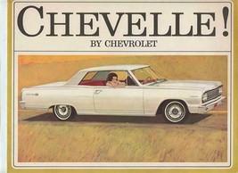 1964 Chevelle by Chevrolet Sales Brochure Malibu Super Sport 300 Station Wagon - $11.88