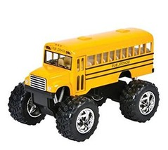"""Play Kreative Monster Pull-Back School Bus 5"""" - Kids Bus with Pull Back ... - $15.65"""