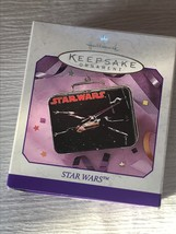 Hallmark Star Wars Black Mini Lunch Box Replica 1998 Christmas Tree Orna... - $8.59