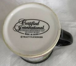 Certified International Tracy Flickinger Dogs Serving Bone Appetit! Mug Cup image 6