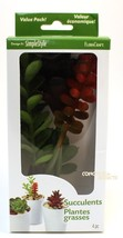Design It: SimpleStyle Pick Succulent, Mixed Artificial Plants by FloraC... - $8.15