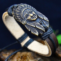 American Tribal Chief Bracelet **L@@K** >> Combined Shipping  - $3.76