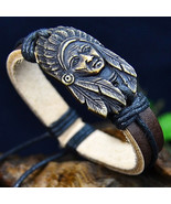 AMERICAN TRIBAL CHIEF BRACELET   **L@@K**  >> COMBINED SHIPPING <<   - $3.76