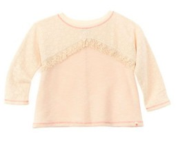 Lucky Brand Girls' Topanga Canyon Antique Pullover, Cream , Size L, MSRP... - $16.82