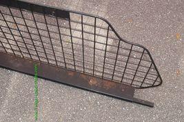 98-02 Subaru Forester Metal Cargo Area Partition Pet Barrier image 5