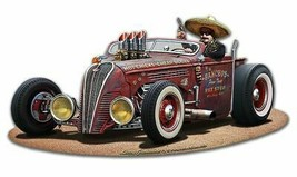 Pancho's Ride by Larry Grossman Plasma Cut Metal Sign - $39.95