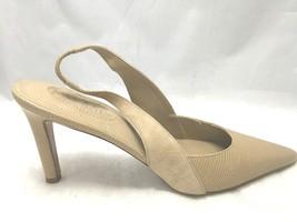 Ralph Lauren Womens Lizard/Kid Suede Leather Pointy Toe Heels Rosaria 8.5 B - $63.19