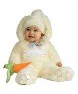 Plush Easter Bunny Jump Suit + Head Piece + Carrot Rattle Costume -12 - ... - $43.00