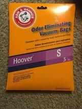 Hoover Type S Arm /& Hammer Odor Eliminating Vacuum Bags 2 Packs of 3 Bags