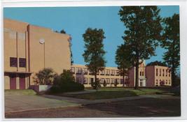 Gibson High School McComb Mississippi MS 1960s postcard - $5.94
