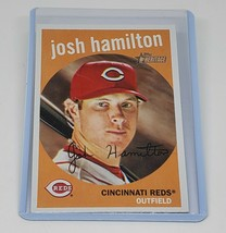 Mlb Josh Hamilton Cincinnati Reds 2009 Topps Heritage Baseball #78 Mint - $1.52