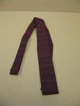 Vintage Ernst Skinny Square End Tie Necktie - Mid-Century Modern - $25.95