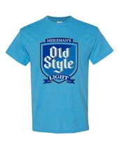 Old Style Light Beer blue T-shirt Heilemans vintage style cotton blend tee image 2