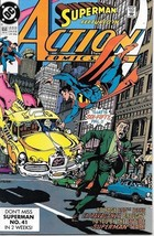Action Comics Comic Book #650 DC Comics 1990 VERY FINE/NEAR MINT - $3.50