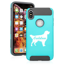 For Apple iPhone X XS MAX XR Shockproof Hard Soft Case Golden Retriever ... - $14.99