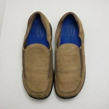Merrell Treviso Stone Women's Tan Slip-on Closed Toe Flat Comfort Shoes Sz 10 - $21.88