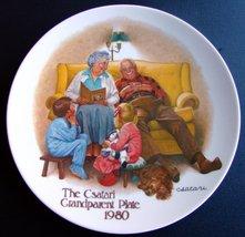 "The Csatari Grandparent Plate 1980, ""The Bedtime Story"" - $19.80"