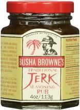Busha Browne's Traditional Jerk Seasoning Rub, 4 oz. - 5 pack - $19.53