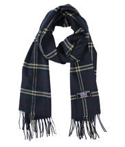 Cashmere Touch Super Acrylic Plaid Woven Scarf - £8.38 GBP+