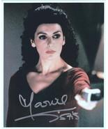 Marina Sirtis of Star Trek Next Generation as Deanna Troi Autographed Photo - $24.18