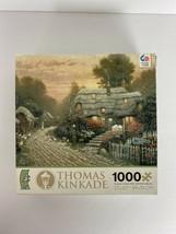 Thomas Kinkade Jigsaw Puzzle Olde Porterfield Tea Room 1000 Pieces Jigsaw - $12.18
