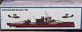 Trumpeter Kit  05325 1/350 Battleship HMS Warspite 1942 version image 3