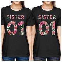 Sister 01 BFF Matching Black Shirts - $30.99+