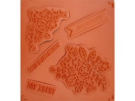 Stampin' Up! So Very Grateful Rubber Cling Stamp Set #133053 image 2