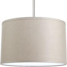 "Progress Lighting P8829-59 Accessory Fabric Shade, 16"", Harvest Linen - €72,00 EUR"