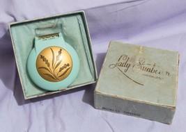 Vintage Lady Sunbeam Shavemaster Electric Shaver  Turquoise w/ Box jds - $9.89