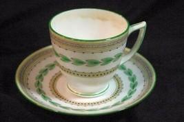 Minton Ashbourne Demitasse Cup And Saucer Set 2 oz. #B1302 - $31.49