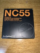 MAC Studio Fix Powder Plus Foundation NC55 Full Size  BNIB - $26.72