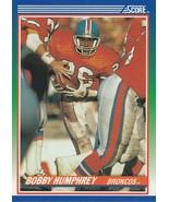 1990 Score #85 Bobby Humphrey  - $0.50