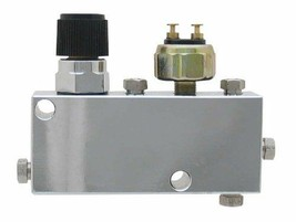PVC-C-Adjustable Proportioning Valve + Distribution Block