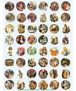 vintage alice in wonderland clipart printable digital download collage s... - $3.99