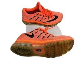 Nike Mens Airmax US 8.5 EUR 40 Orange Running Shoes 806772-800 - $30.76
